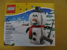 LEGO 40093-Le Bonhomme de Neige - Neuf- Snowman - New-