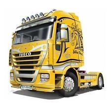 """Iveco Stralis """"Yellow Devil"""" riproduzione Iveco modello scala 1/24 ITALERI 3898"""