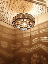 Moroccan pendent oriental brass hanging lamp Ceiling light chandelier Marrakesh