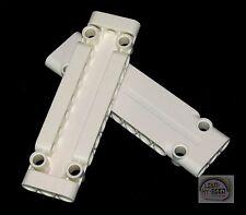 LEGO Technic - 2 x Panel Plate - 11 x 3 - White - New - (NXT, EV3, Skin)