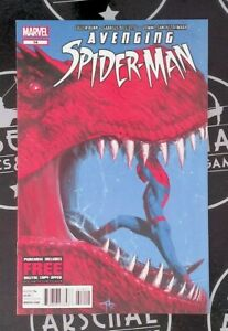 Avenging Spider-Man #14 & 15 VF/NM 9.0 2013 Devil Dinosaur Gabrielle Dell'Otto