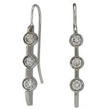 Diamond Earrings Ladies Long Earrings 14k Gold & 0.50 Carat Larger Diamonds