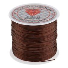 Salon Cotton Hair Track Weave Sew Decor Thread for Hair Extension Tool Brown
