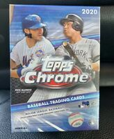 2020 Topps Chrome Baseball Factory Sealed Blaster Box 32 Cards Per Box!