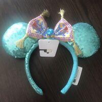 New With Tags Disney Parks Disneyland Princess Jasmine Minnie Mouse Ears