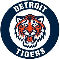 "Detroit Tigers MLB Vinyl Decal - You Choose Size 2""-28"""