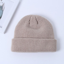 Casual New Skull Cap 15 Colors Warm Women Winter Beanie Knitted Hat Outdoor Men