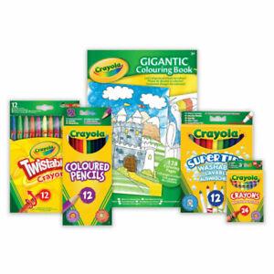 Crayola - Felt Tip Pens, Markers, Chalk, Crayons, Colouring Pencils, Paint & Art
