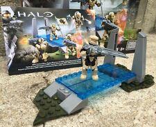 Halo Mega Bloks Set #CNK25 UNSC Fireteam Rhino Figure #3 With Background!!