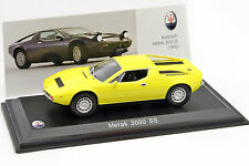 Merak 3000 SS 1972 -  MASERATI    100 YEARS COLLECTION - 1/43  Leo Models 040
