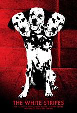 Jack White Stripes 2007 Poster Halifax Nova Scotia Canada S/N #/231 Rob Jones