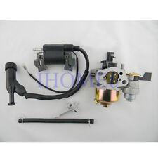 Ignition Coil + Carburetor Carb For HONDA GX160 GX200 Engine Generator Parts New