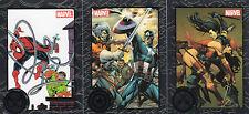 Marvel Greatest Battles complete 90 card silver base set & P1 promo