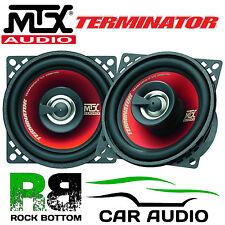 "MTX tr404 - 4 "" 10cm 2 vie 160 Watt Auto & Van coassiale audio altoparlanti e griglie"
