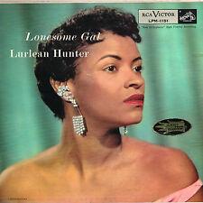 LURLEAN HUNTER lonesome gal U.S. RCA LP LPM-1151_rare 1956 DEEP GROOVE VG++<><>