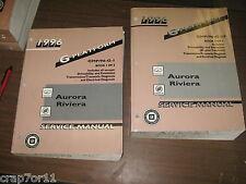 1996 96 BUICK RIVIERA OLDSMOBILE AURORA GM SERVICE REPAIR 2 MANUAL SET