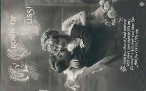 My crown of bliss  romantic glamour greetings valentine