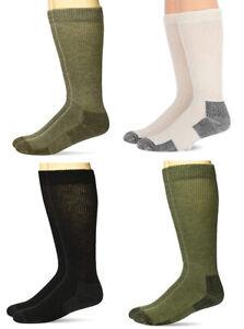 Carolina Ultimate Mens Non-Binding Merino Wool Cushion Boot Crew Socks 1 Pair