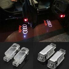 2Pcs LED Logo Light Shadow Projector Car Door Courtesy Laser Audi A5 Q5 Q7 S3 R8