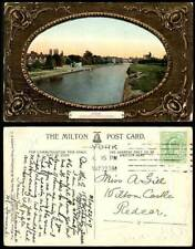 York Embossed Collectable English Postcards