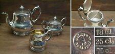 Wunderschönes Tee-Set von ART. KRUPP BERNDORF; Österreich um 1910