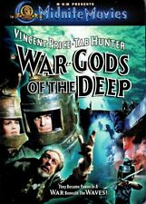 War Gods Of The Deep (1965) MGM Midnite Movies Widescreen DVD Rare OOP