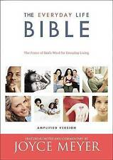 NEW The Everyday Life Bible: The Power of God's Word for Everyday Living