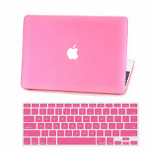 """Hard Rubberized Case+Key Cover for Macbook Air 11""""Pro 13""""15""""Touch Bar Retina 12"""""""