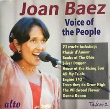 JOAN BAEZ VOICE OF THE PEOPLE CD ALTO 23 TRACKS FAST DISPATCH