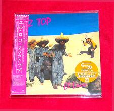 ZZ Top El Loco SHM MINI LP CD JAPAN WPCR-15173