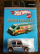 Hot Wheels 2007 Super Chromes Morris Mini