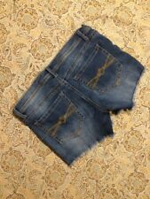 Mudd Womens Designer Blue Denim Shorts Size 11 Cut Off Cute Summer Nice
