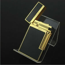 2017 NEW S.T Memorial lighter Bright Sound! golden Black Laquer Gift Adapter