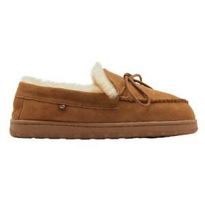 Lamo Women's Doubleface Sheepskin Moccasins Slip on Shoe Chestnut CW1946