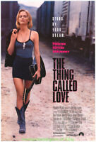 THE THING CALLED LOVE MOVIE POSTER DS 27x40 SAMANTHA MATHIS RIVER PHOENIX 1993