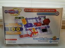 Snap Circuits Jr. SC-100 Electronics Exploration Kit,Kids Building Projects KitS