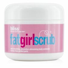 Bliss Fat Girl Scrub Skin Smoothing, Stimulating Body Exfoliator, 2.7 Oz