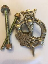 Liffey Artefacts Tara Brooch Solid Brass Doorknocker Door Knocker Irish Celtic