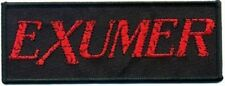 """Exumer """"logo"""" patch/écusson 602446 #"""
