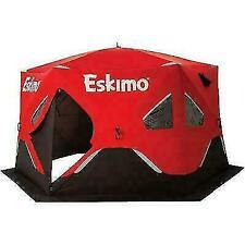 Eskimo FatFish 6120i Insulated Portable Ice Fishing Shelter for 7 Person  00006000