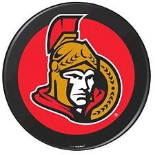Ottawa Senators Black Hockey Puck Laminated Cardstock Cutout Nhl Hockey Sport.