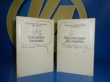 Libro LOS SANTOS INOCENTES y MAZURCA PARA DOS MUERTOS
