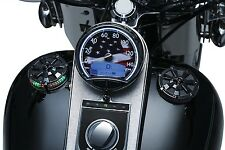 Kuryakyn  Alley Cat L.E.D. Fuel & Battery Gauge and Gas Cap Harley 1991-2016