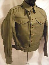 Original British Denim Battledress Tunic, size 8, excellent condition