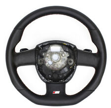 S-LINE Flattened Leather Steering Wheel With Rocker Switches Audi Q7