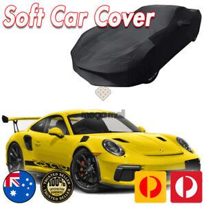 Black Show Car Dust Cover for Porsche 911 GT2 GT3 RS Turbo Washable Soft Plush