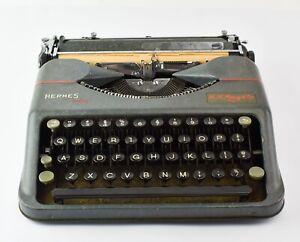 1950s Vintage Hermes Baby Portable Manual Typewriter - NO RESERVE KL30
