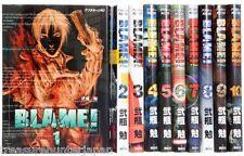 BLAME! 1-10 Tsutomu Nihei Japanese ANIME Complete Manga Comic Book set Japan F/S