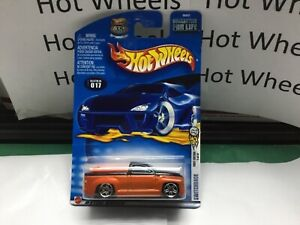 Hot Wheels 2003 First Editions SWITCHBACK Pickup w/Surfboards  Black/Orange