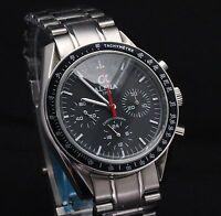 Alpha Speedmaster Chronograph watch Black Dial  Brand New Limited Edition